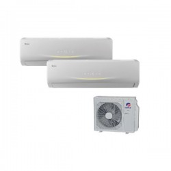 GREE VIOLA Perfect Multi Split 2,1 + 2,6kW SET Klimaanlage Inverter Klimageräte