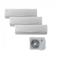 GREE VIOLA Perfect Multi Split 3 x 2,1kW SET Klimaanlage Inverter Klimageräte