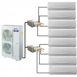 GREE VIOLA Perfect Multi Split 8 x 2,1kW Klimaanlage Inverter Klimageräte