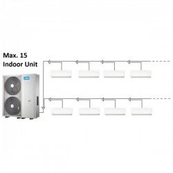 MIDEA mini VRF 26kW + 15 x wandklimageräte 2,2kW Klimaanlagen & Heizgeräte MDV