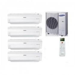 Samsung Klimaanlage MultiSplit 4 Räum CLASSIC+ Inverter 3x 2,5+1x 3,5