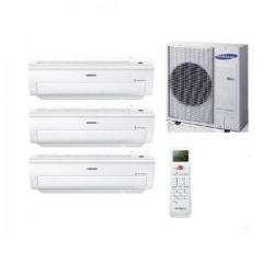 Samsung Klimaanlage Multi Split 3 Räum CLASSIC+ Inverter Klimageräte 2,5+2,5+5,0
