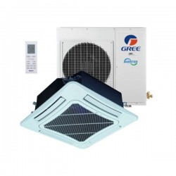 GREE 4-Wege Kassette 14,0kW SET Deckenkassette Klimaanlage Inverter Klimageräte