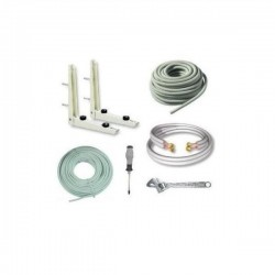 """6lfm Komplettes Montageset für Klimaanlagen Installation 1/4""""+3/8"""" (6/10mm) Grundpreis 26,50€ /m"""