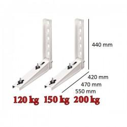 Wandkonsole für Klimageräte bis 120kg - 420mm WS42