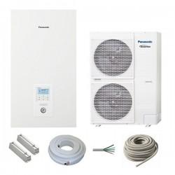 Luft Wasser Wärmepumpe Panasonic Aquarea HT 9kW 400V Wasservorlauftemperatur 65