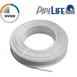 1m Alu Verbundrohr 16 x 2 mm, Pipelife mit DVGW Mehrschichtverbundrohr