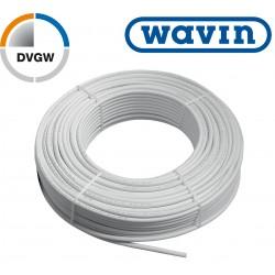 100m Alu Verbundrohr 16 x 2 mm, Wavin mit DVGW Mehrschichtverbundrohr Grundpreis 0,76€/m