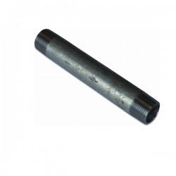 """Rohr verzinkt 1/2"""" 300mm Grundpreis 0,06€/cm"""