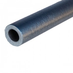 Rohrisolierung 2m lang, Dämmstärke 6mm f. Rohr Ø 28mm, blau | 0,50€/m