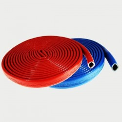 10m Rohrisolierung, Tubolit, Dämmstärke 6mm f. Rohr Ø 28mm, rot | 0,45€/m