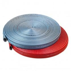 20m Rohrisolierung, Dämmstärke 4mm f. Rohr Ø 28mm, rot | 0,60€/m