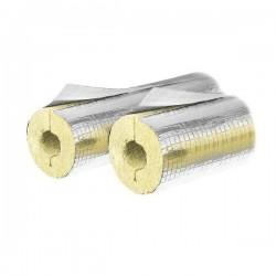 Steinwolle-isolierung 1m lang, Dämmstärke 20mm f. Rohr Ø 42mm