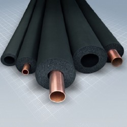 Kautschuk-Rohrisolierung 2m lang, Dämmstärke 13mm f. Rohr Ø 15mm | 1,46€/m