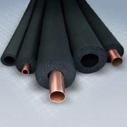 Kautschuk-Rohrisolierung 2m lang, Dämmstärke 13mm f. Rohr Ø 35mm | 2,20€/m