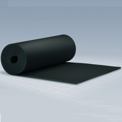 Kautschuk-Isolierung Platte selbstklebend 1m breit, Dämmstärke 19mm, Karton 14 m²