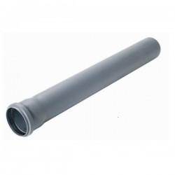 HT DN 50 Rohr 1000mm grau Grundpreis 2,53€ /m
